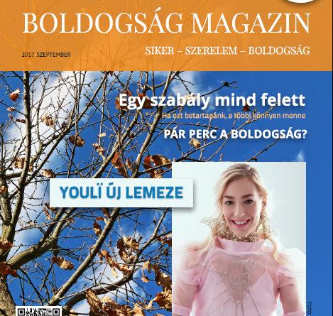 Boldogság Magazin 2017. szeptember