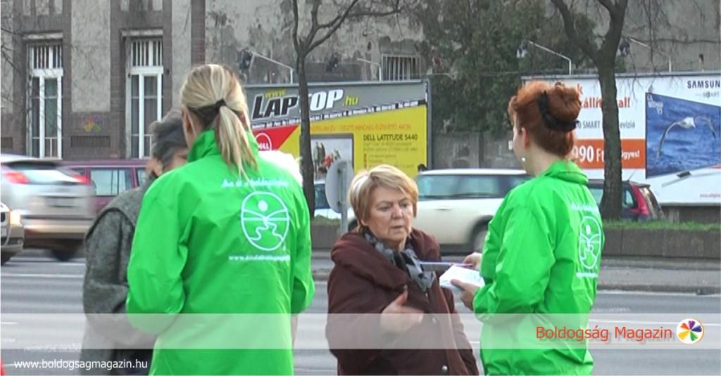Önkéntesek a Boldogság Világnapján