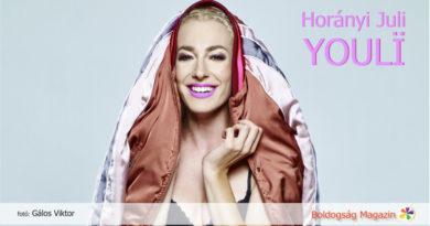 Horányi Juli interjú a Boldogság Magazinban