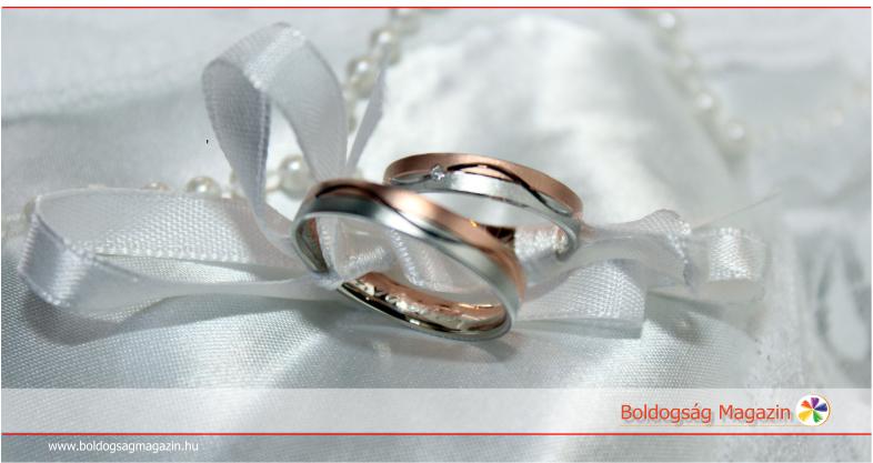 A jegygyűrű a végtelen szerelem jele