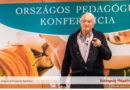 Nemere István író az iskolai agresszió konferencián