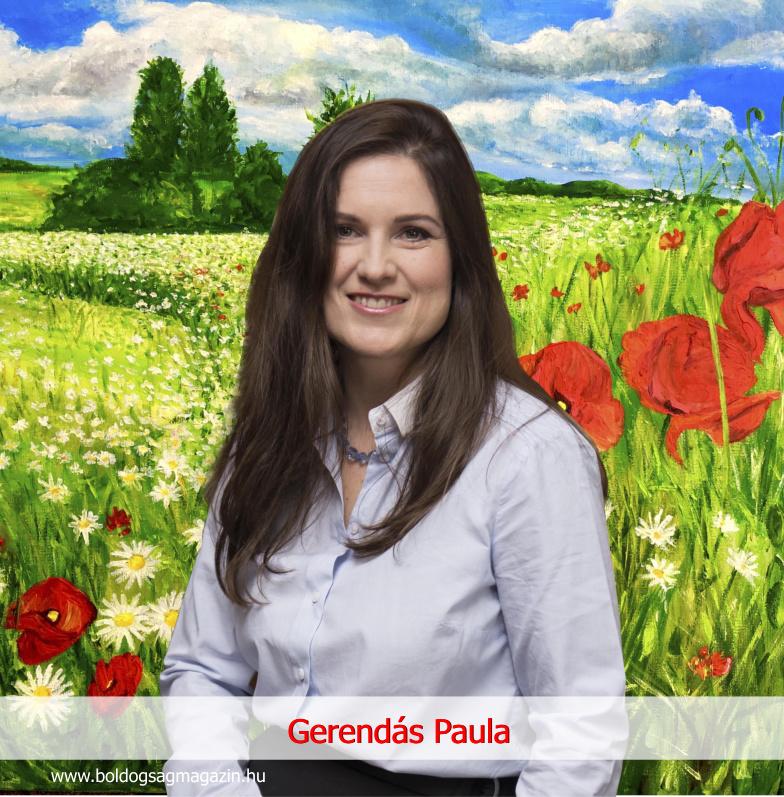 Ami lenni akarsz! Gerendás Paula festőművész, aki harmóniát, hangulatot, érzelmeket visz az otthonokba.