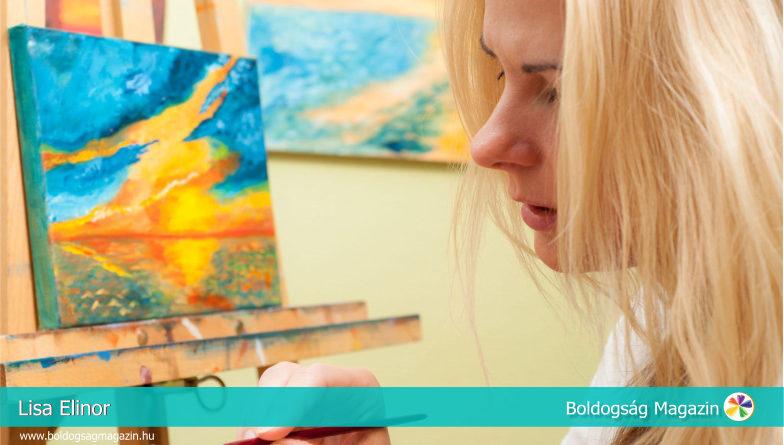 Lisa Elinor - A naplementék festője